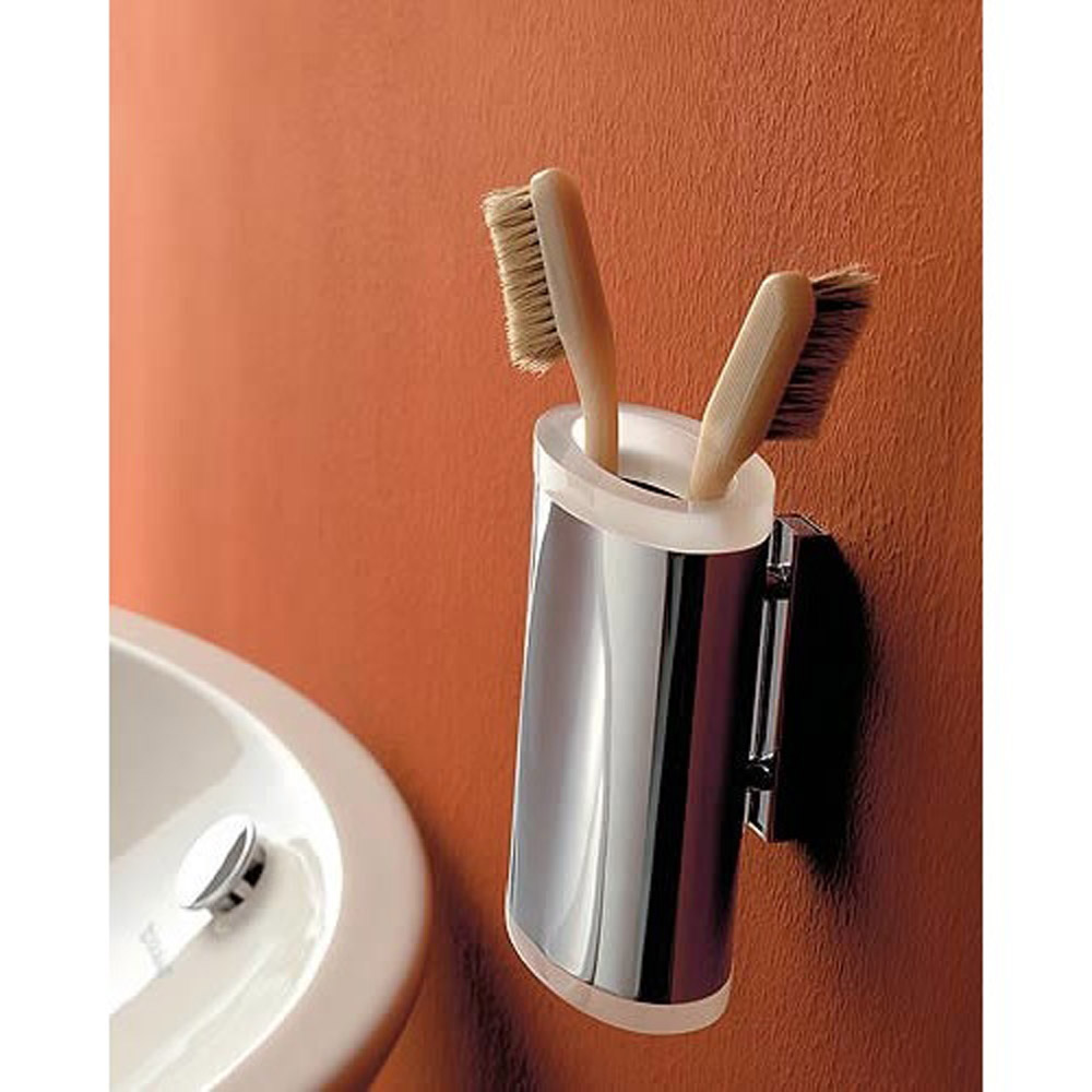 Kor Toothbrush Holder Wall Mounted Bathroom Accessory