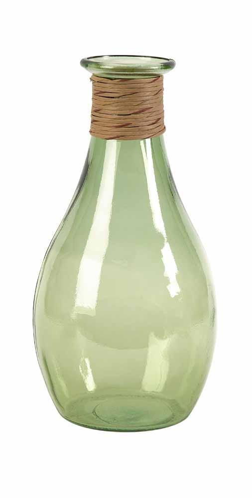 Angelico Large Recycled Glass Vase Zuri Furniture