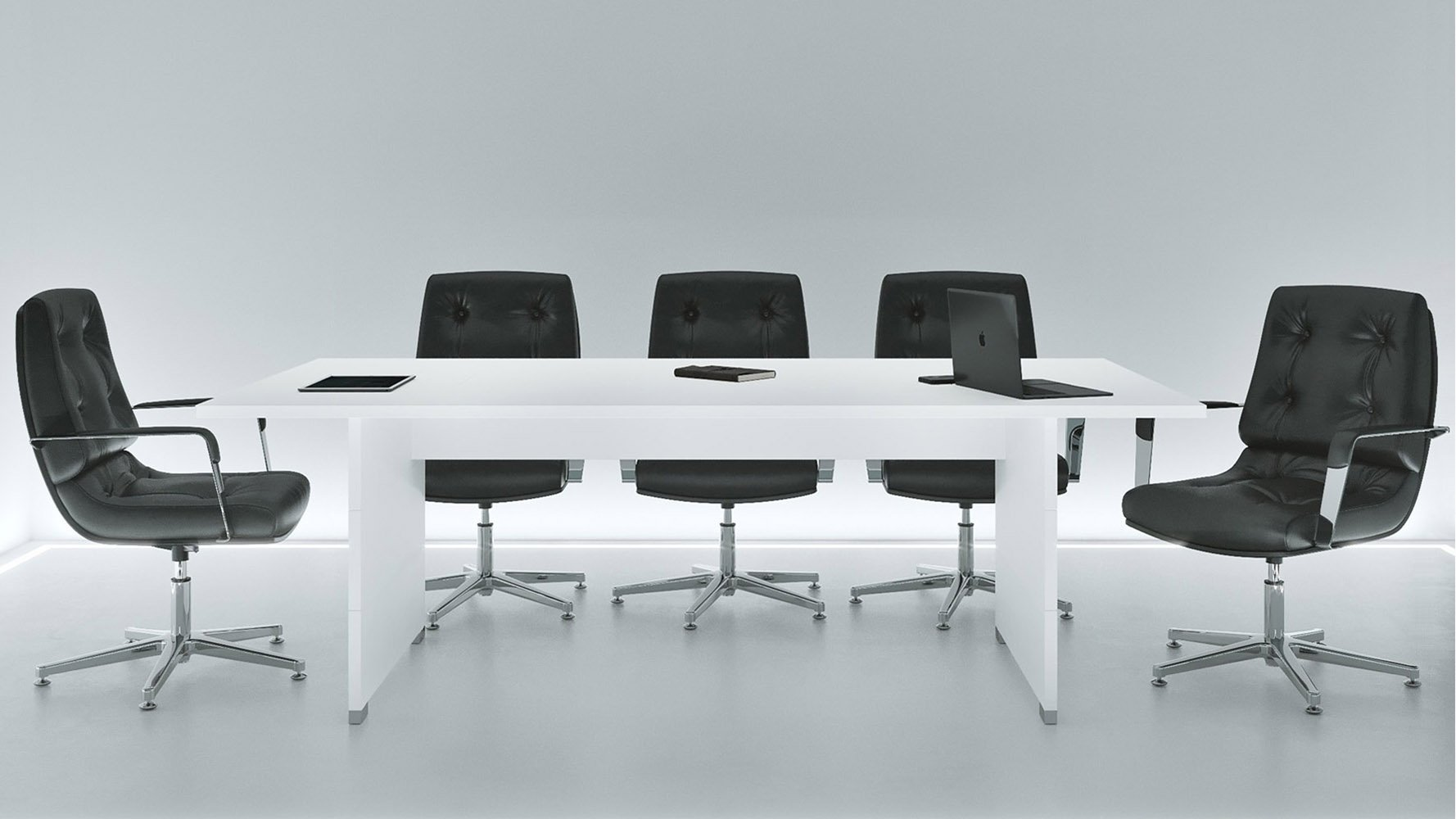 Ford Meeting Table White