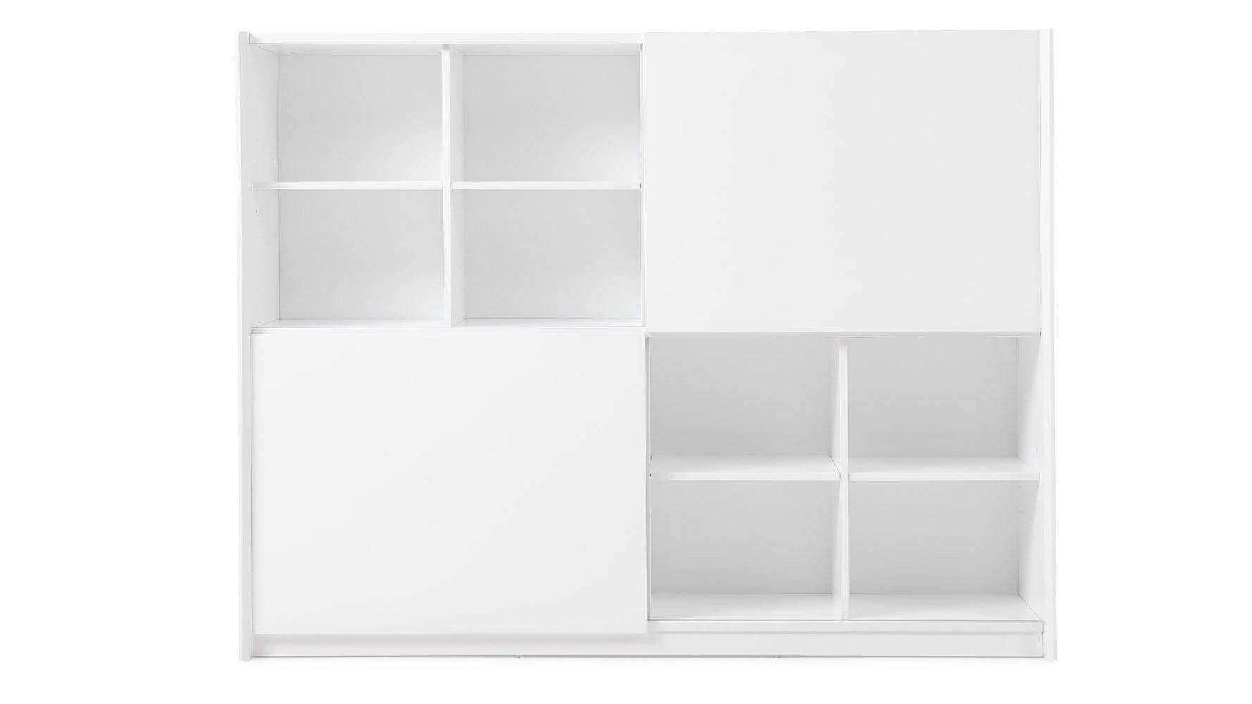 Jackson Bookcase White