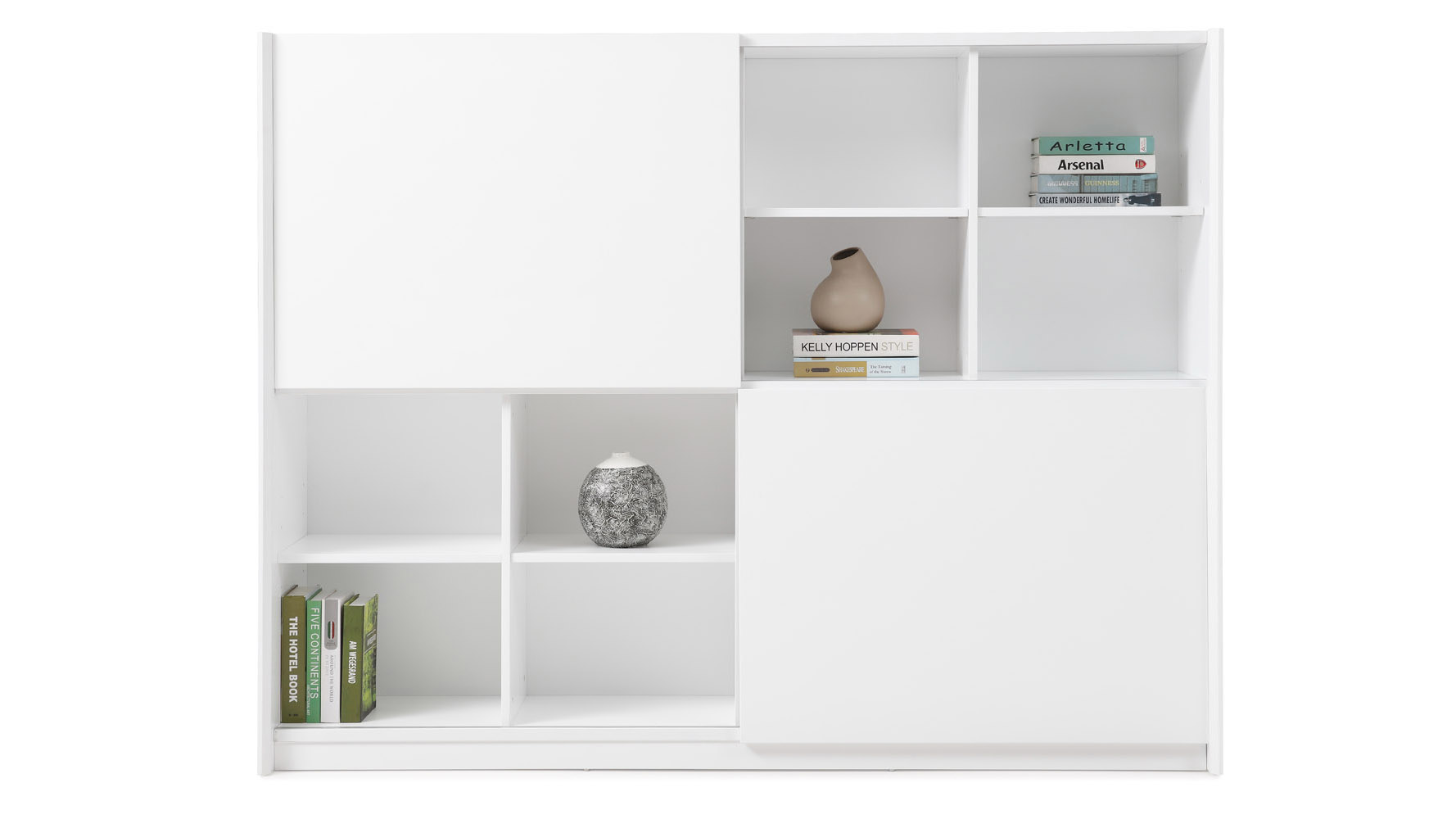timeless design 7785f aa250 Jackson Bookcase - White