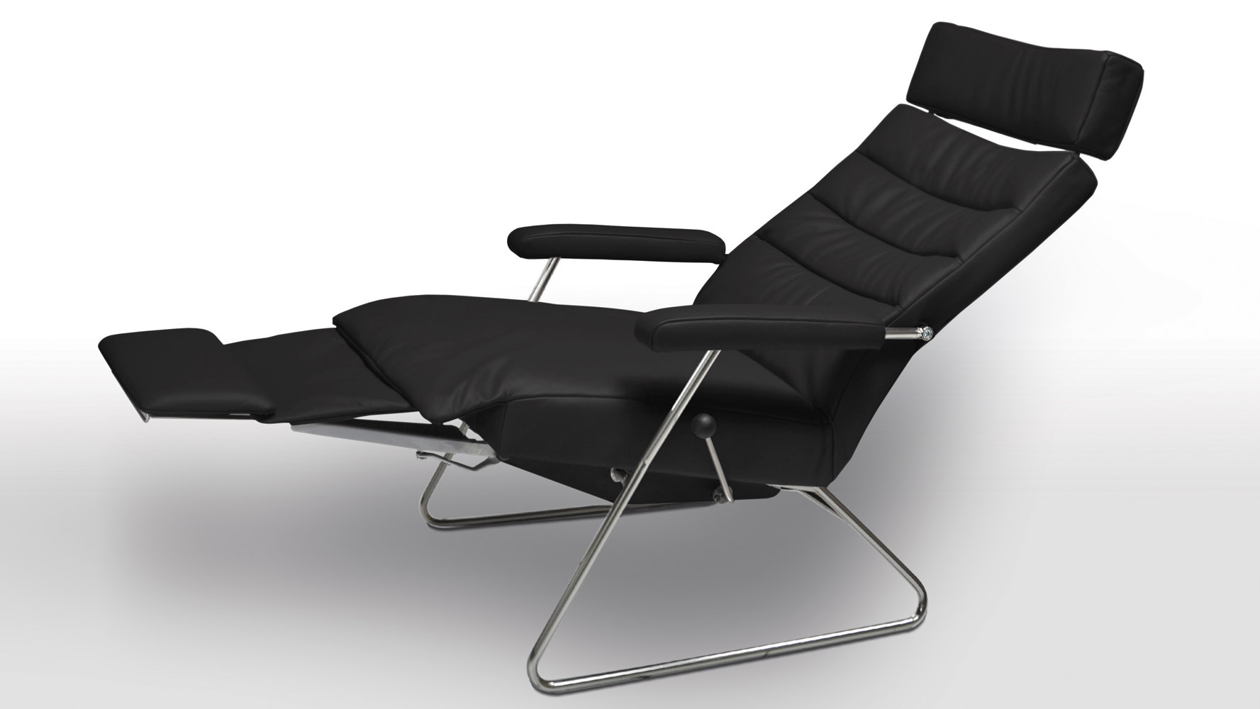 next  sc 1 st  Zuri Furniture & Adele Leather Adjustable Reclining Chair | Zuri Furniture