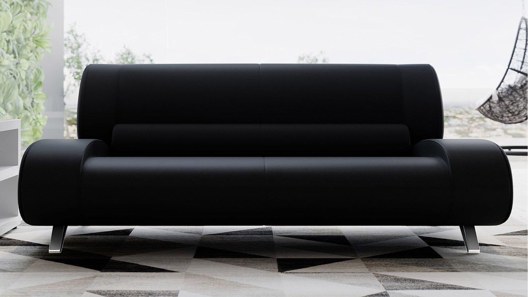 Picture of: Aspen Leather Sofa 3 Seater Zuri Furniture