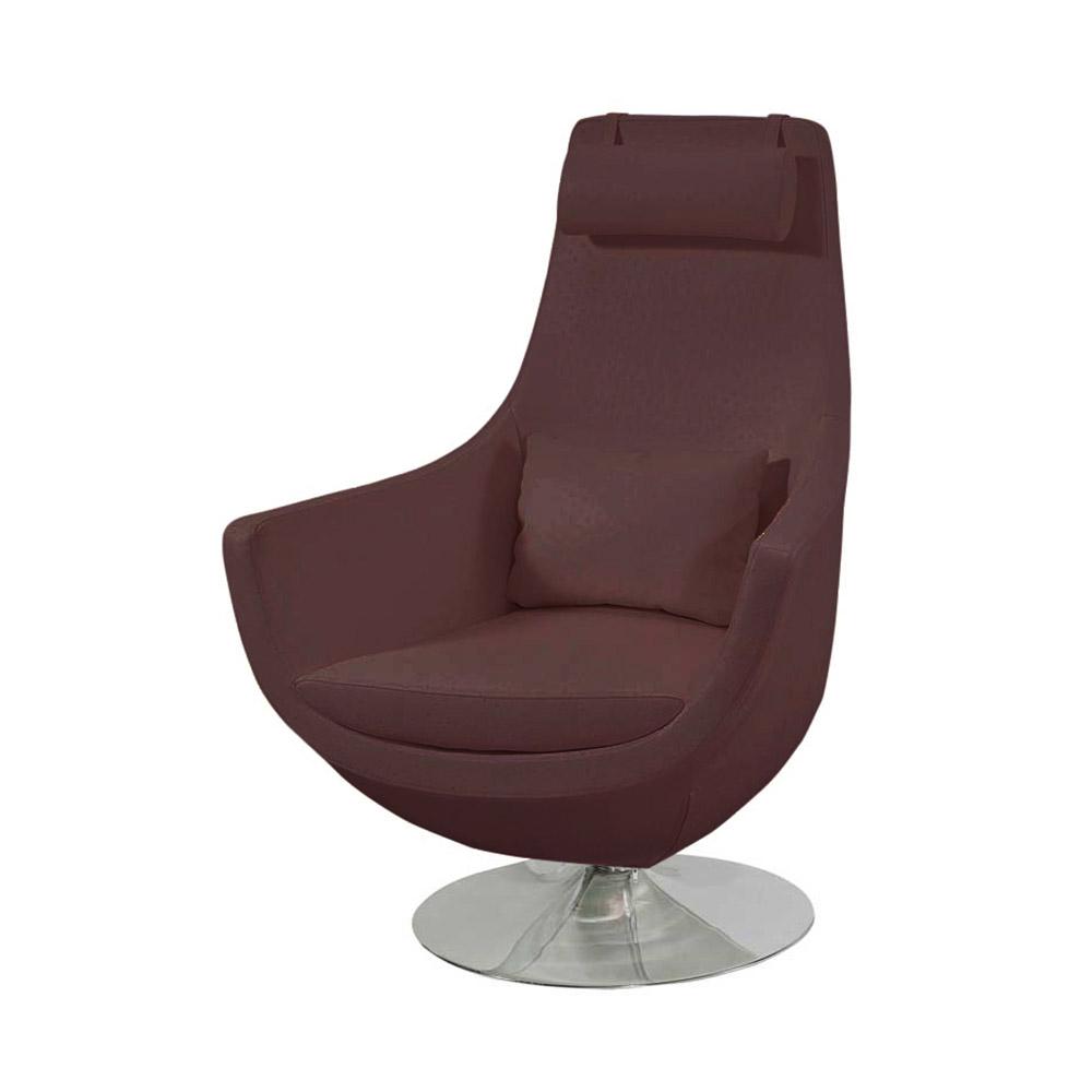 Astro Swivel Chair Brown Zuri Furniture