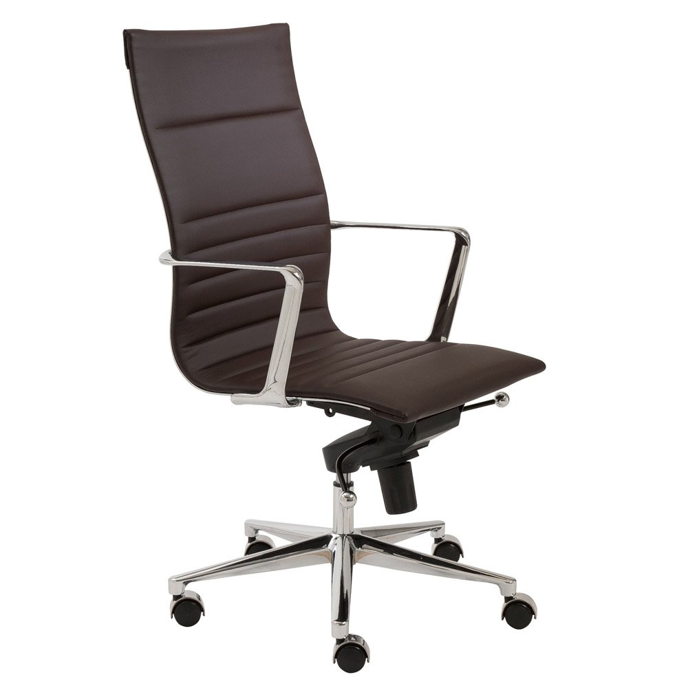 atticus contemporary high back office chair zuri furniture