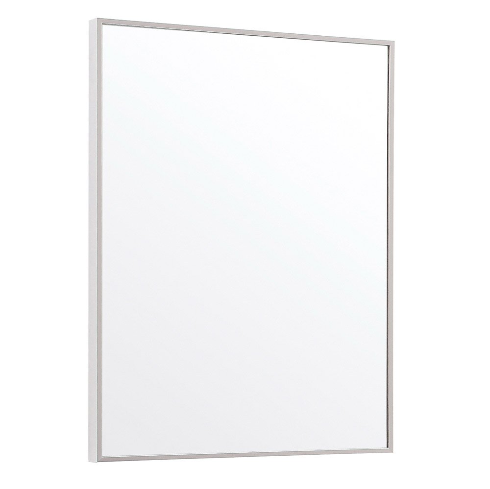 How to frame a bathroom mirror with metal best 25 black for Metal frame mirror