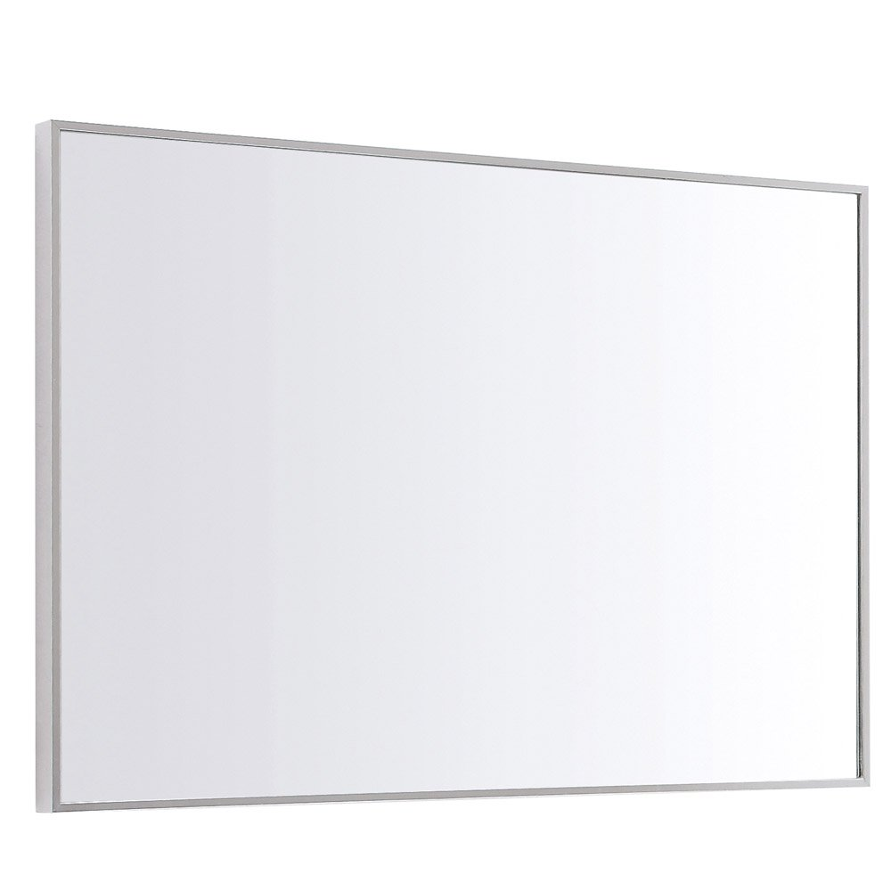 Sonoma Aluminum Metal Frame Bathroom Mirror Zuri Furniture