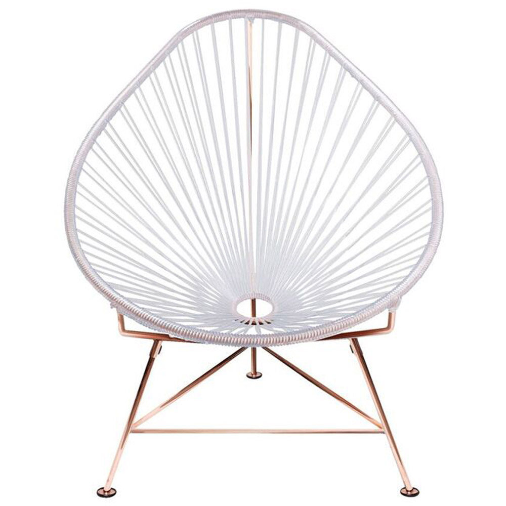 Baby Acapulco Chair   Copper Frame