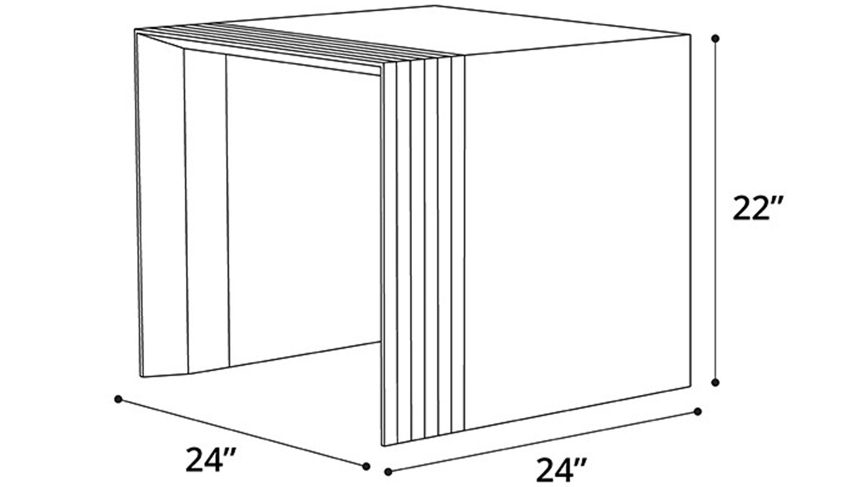 Badan Wood Side Table