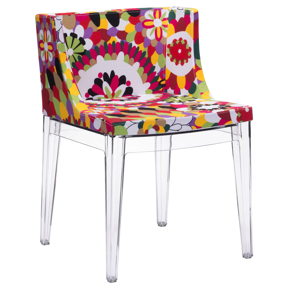Bahia Polycarbonate Dining Chair   Set Of 2   Multicolor Polyblend | Zuri  Furniture
