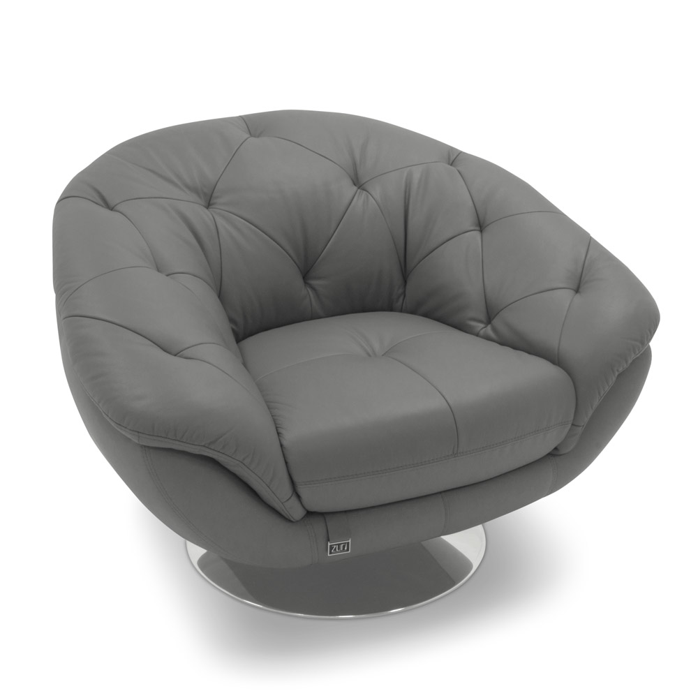 Barbie Contemporary Comfortable Leather Lounge Chair