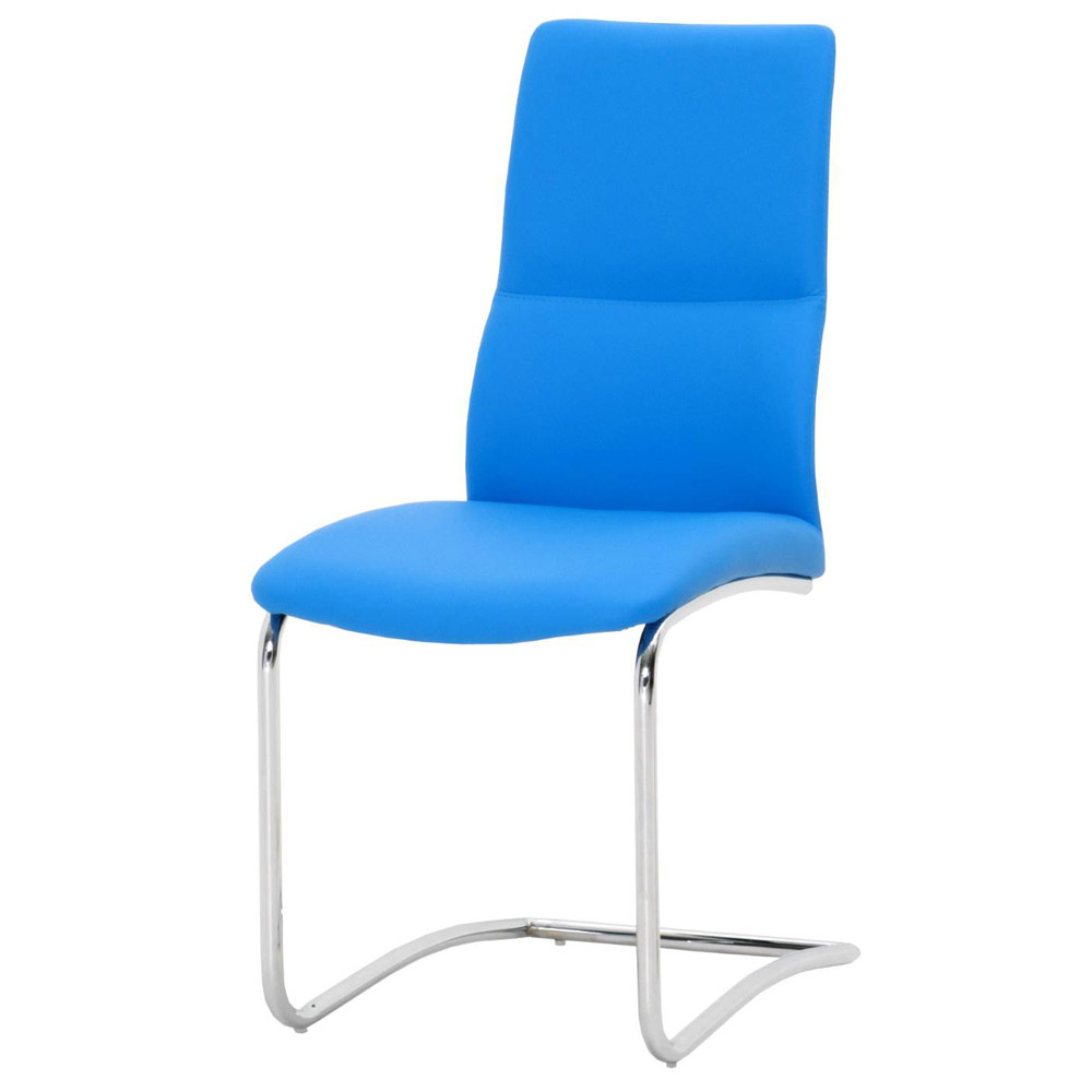 Blue Leather Dining Chairs Dining Chairs Astonishing Light
