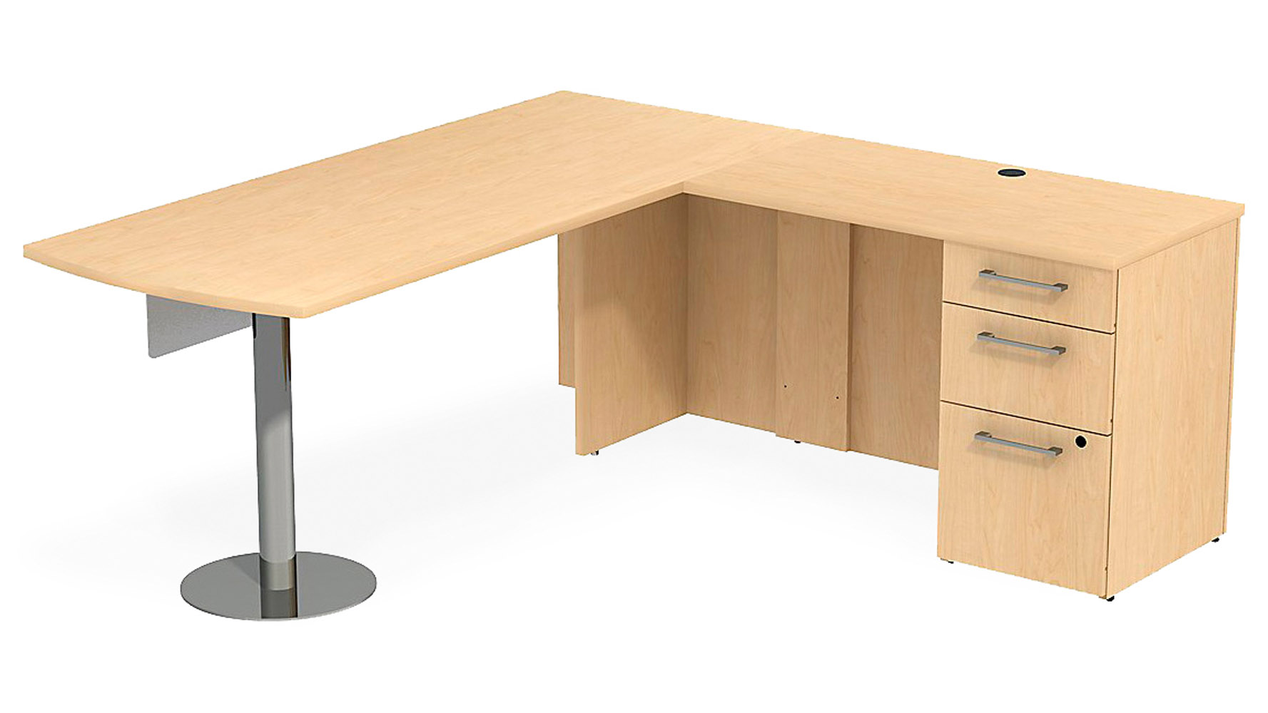 Maple L Shaped Desk Desk Design Ideas
