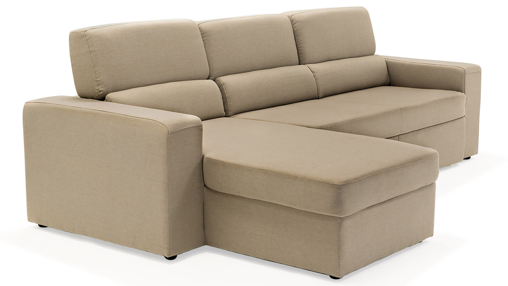 Manstad sofa bed sleeper sectional with chaise grey for Beige sectional with chaise