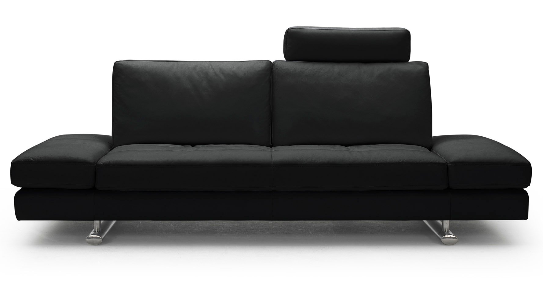 Black leather sofa and loveseat set black bentley bonded for Leather sofa and loveseat set