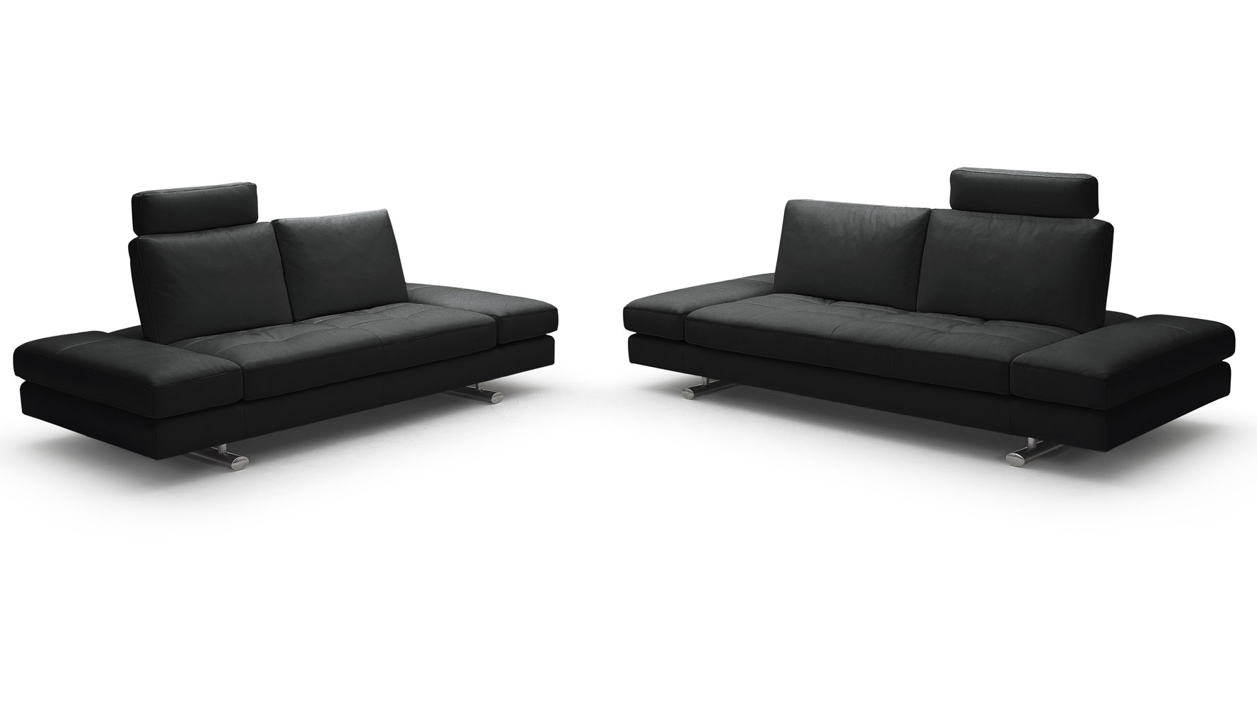 Black leather sofa and loveseat set black leather sofa and loveseat set steal a furniture thesofa Loveseat black