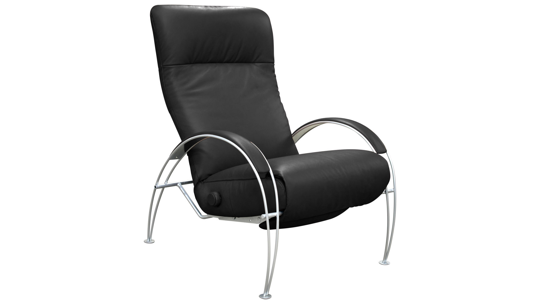next  sc 1 st  Zuri Furniture & Billie Leather Adjustable Reclining Chair | Zuri Furniture