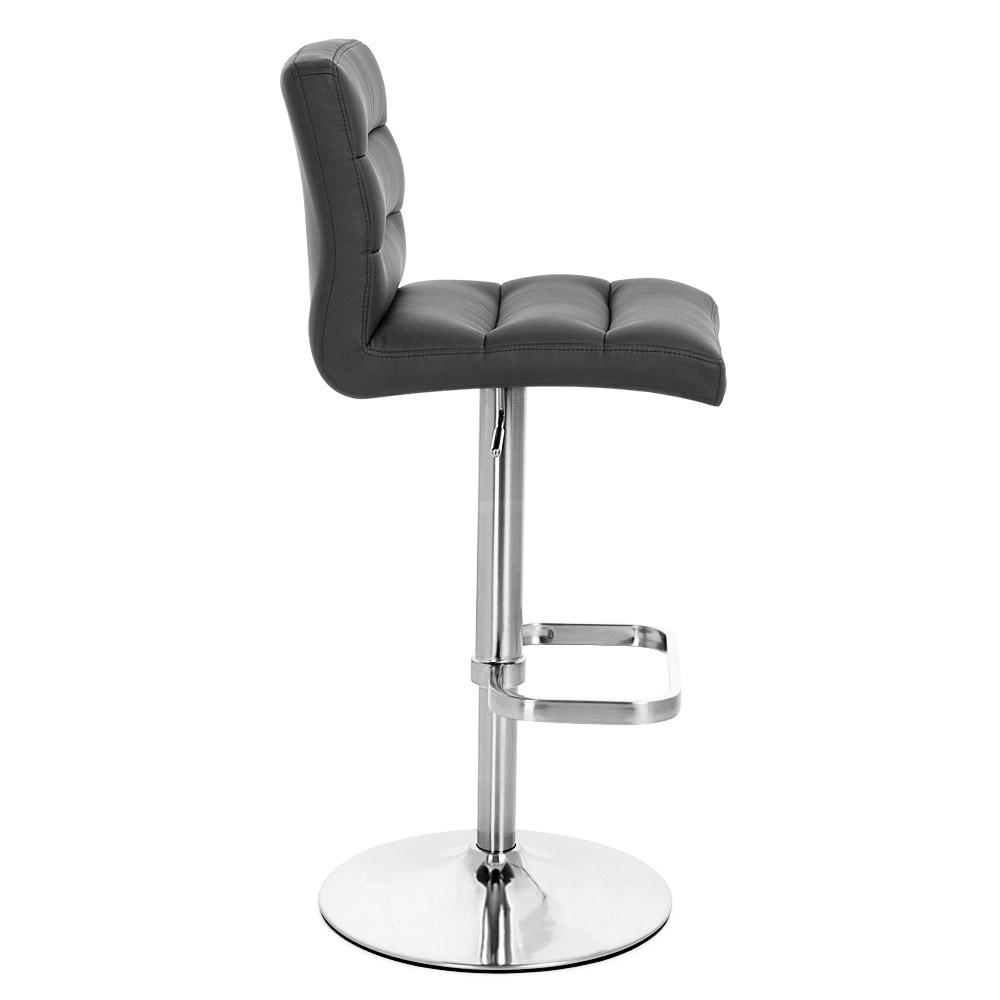 Incredible Black Lush Bar Stool Chrome Pdpeps Interior Chair Design Pdpepsorg