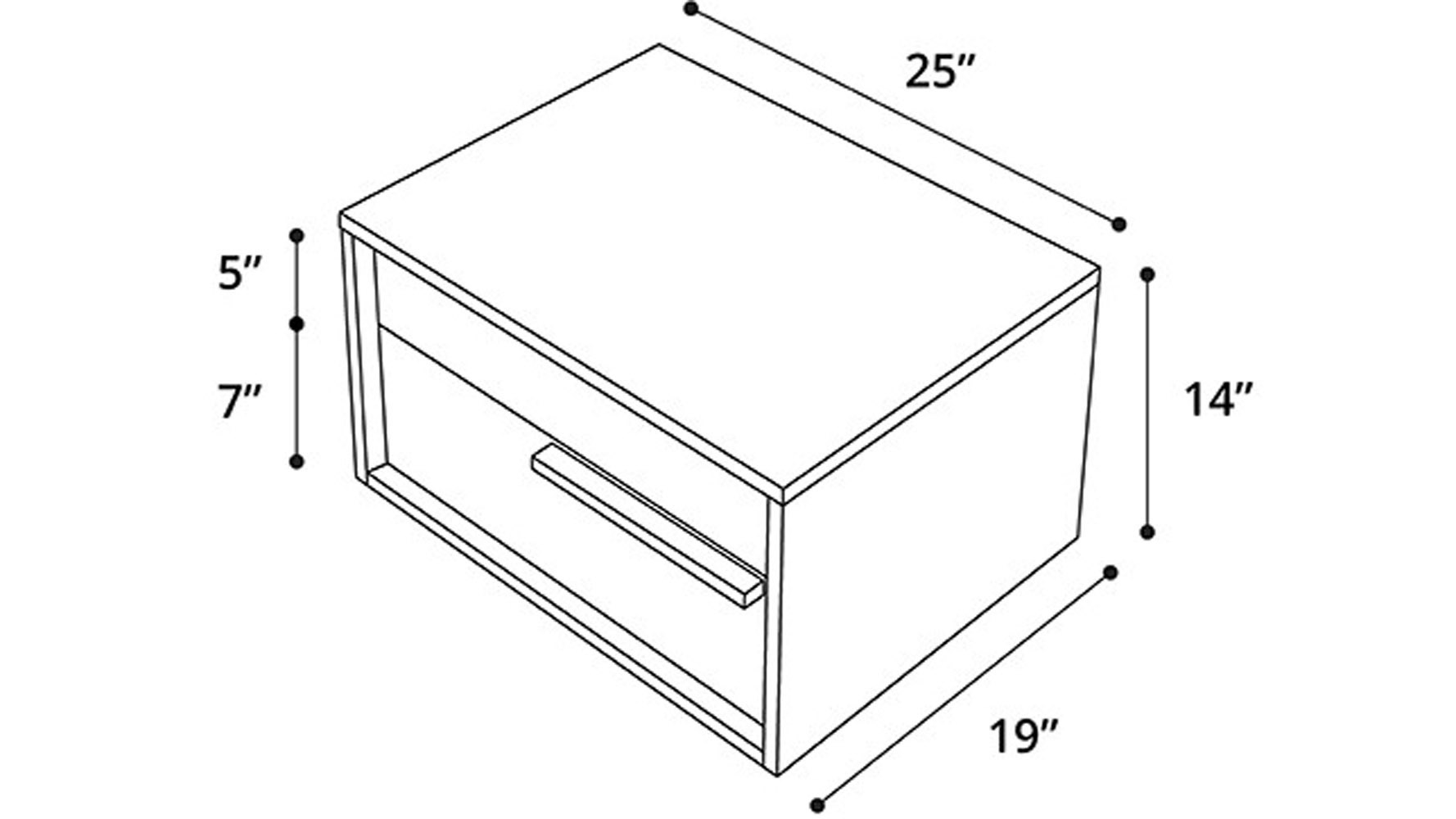 Nightstand Dimensions Proof