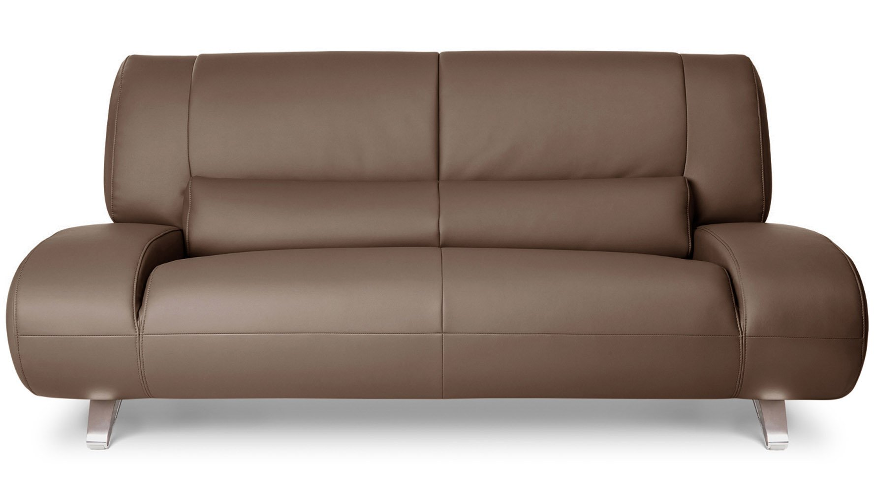 Brown Aspen Microfiber Leathersofa Set With Loveseat And Chair Zuri Furniture