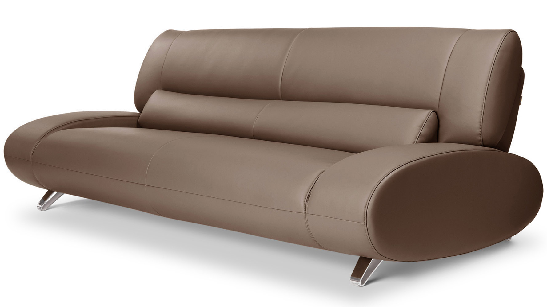 Brown Aspen Microfiber LeatherSofa Set With Loveseat And Chair ...