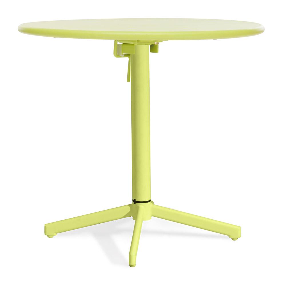 Capri Folding Round Table Zuri Furniture