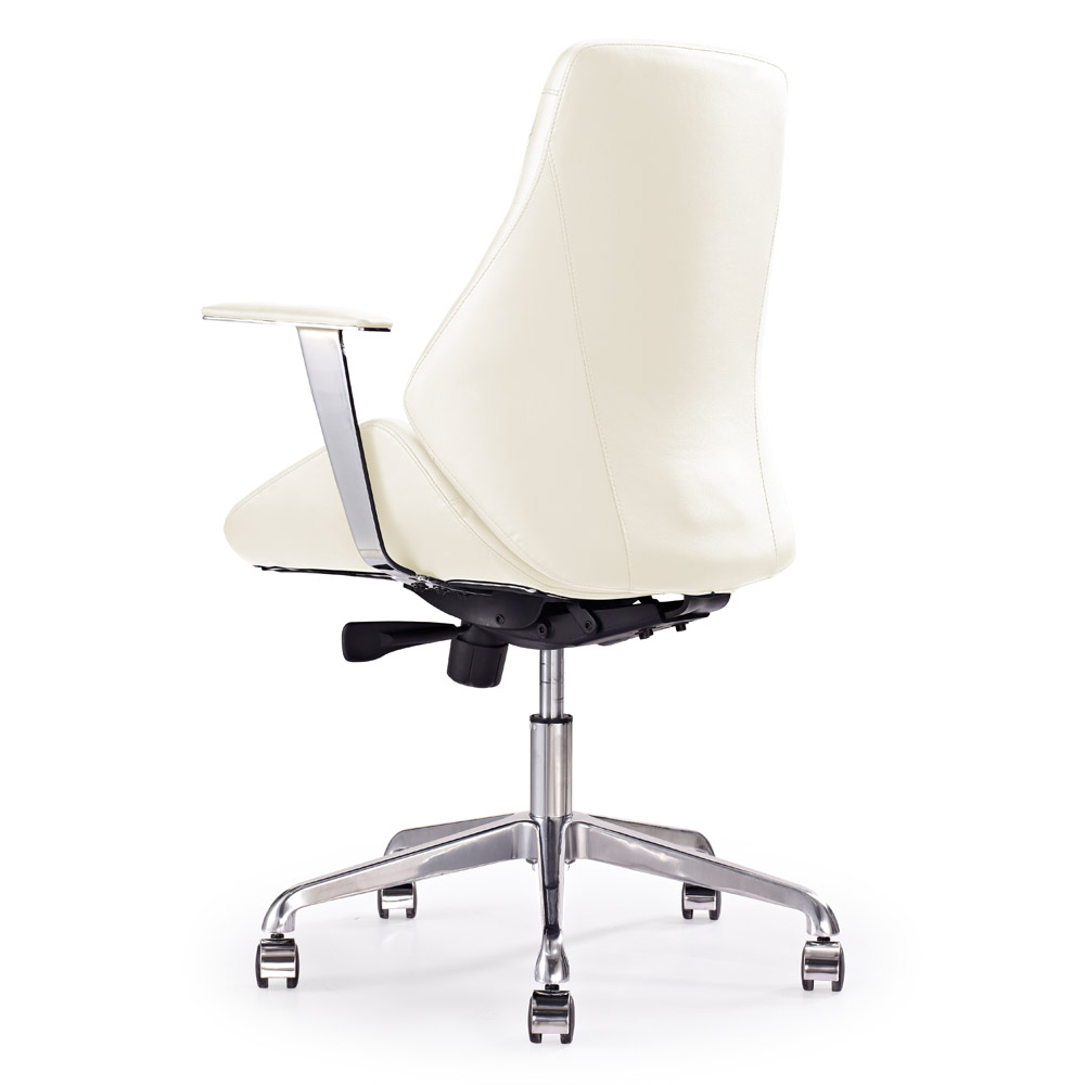 Genuine leather executive chair on sale - Chambers Leather Executive Chair Cream