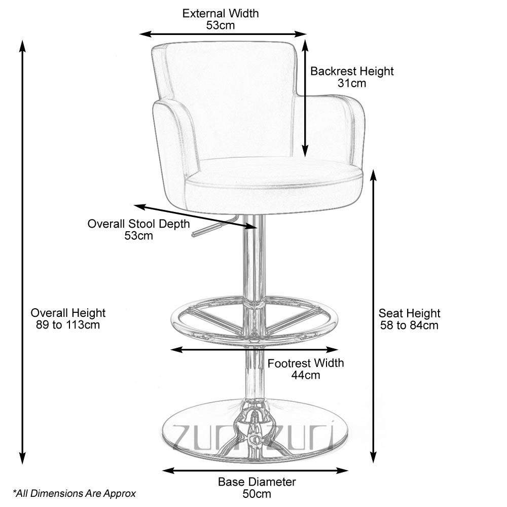 Bar Stool Sizes Bing Images
