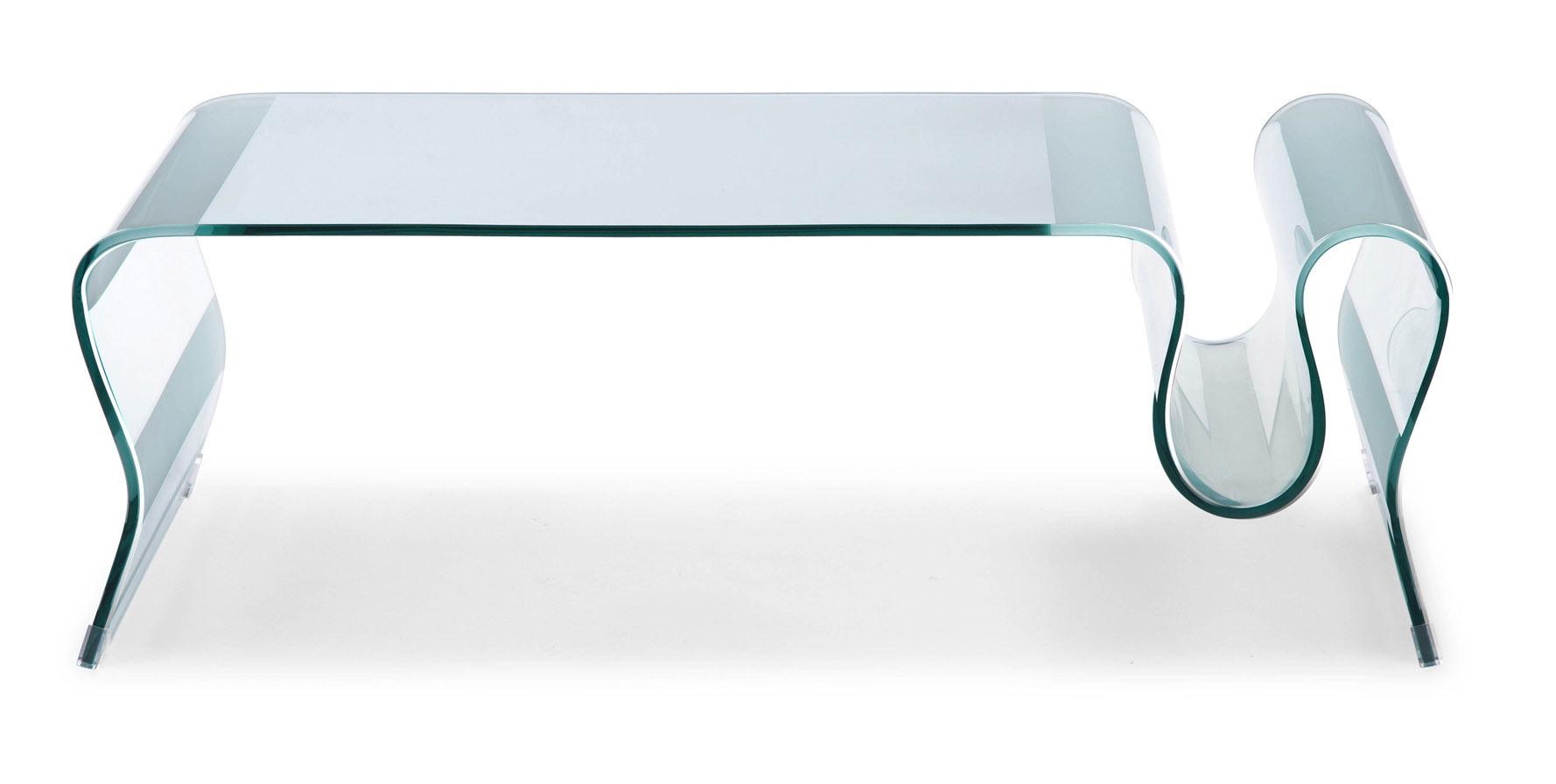 Chuck tempered glass coffee table clear glass zuri for Tempered glass coffee table