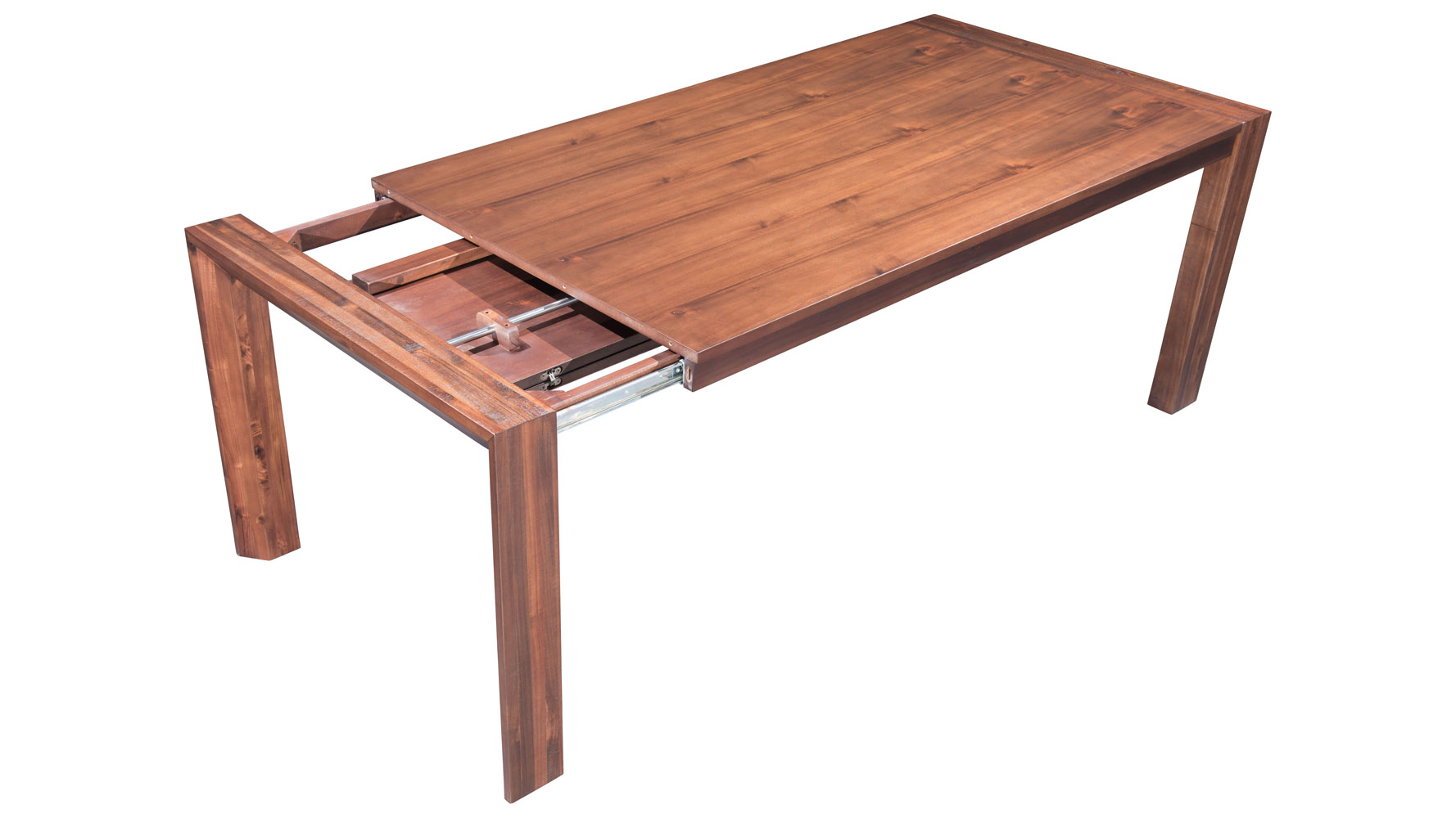 colville acacia wood extension dining table chestnut zuri furniture. Black Bedroom Furniture Sets. Home Design Ideas