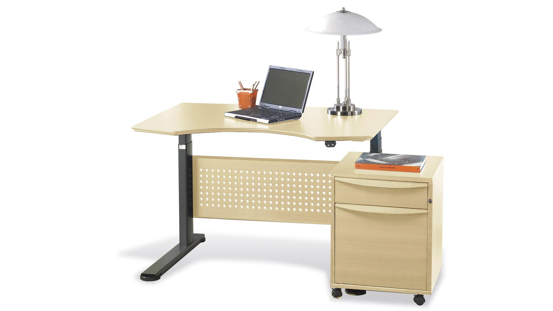 Contemporary Motorized Dexter Sit Stand Desk 47 Zuri