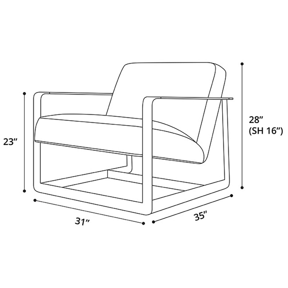 Cooper Lounge Chair Zuri Furniture