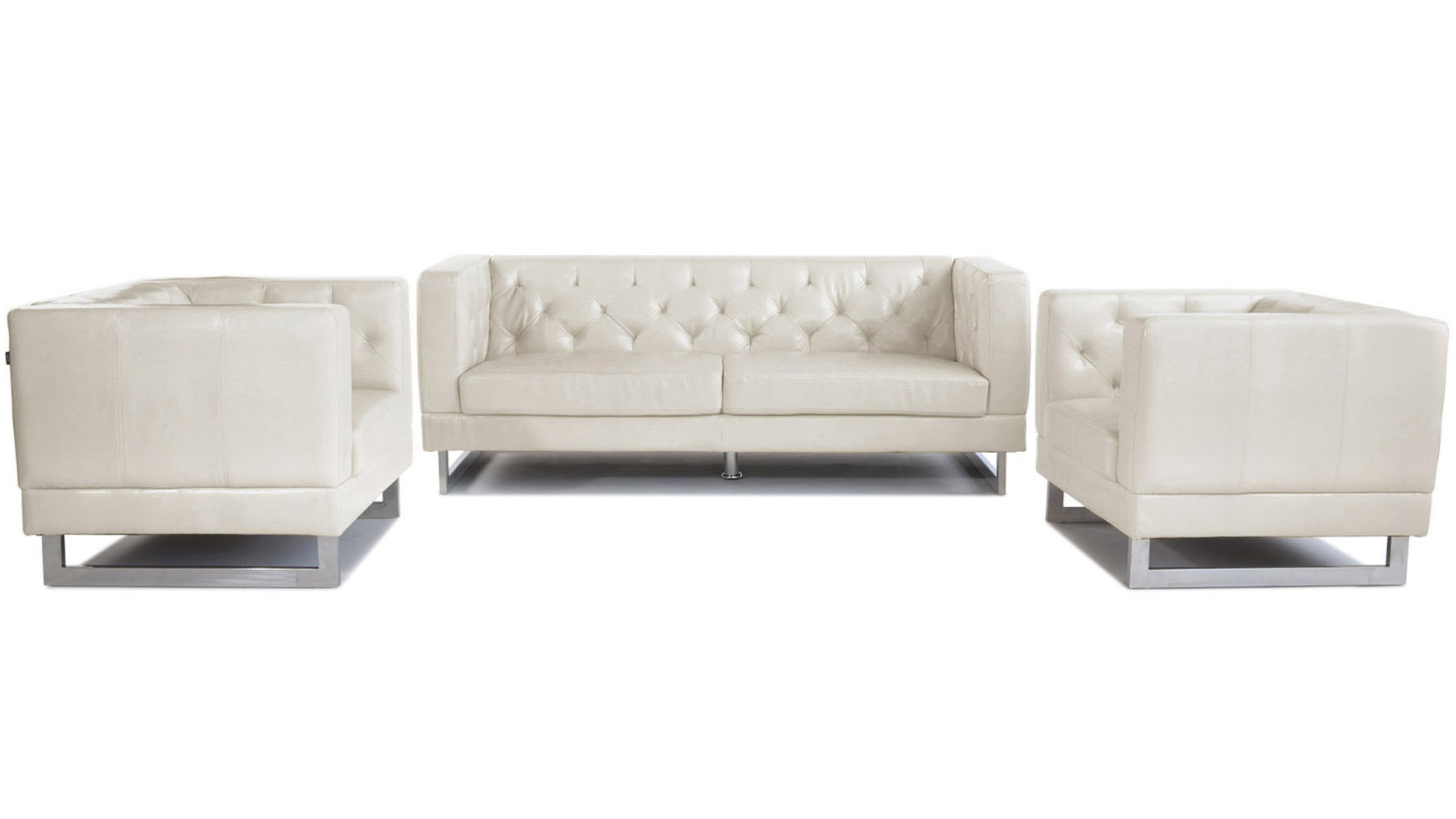 cream tufted sofa coaster 2 piece fabric on tufted sofa set cream thesofa. Black Bedroom Furniture Sets. Home Design Ideas