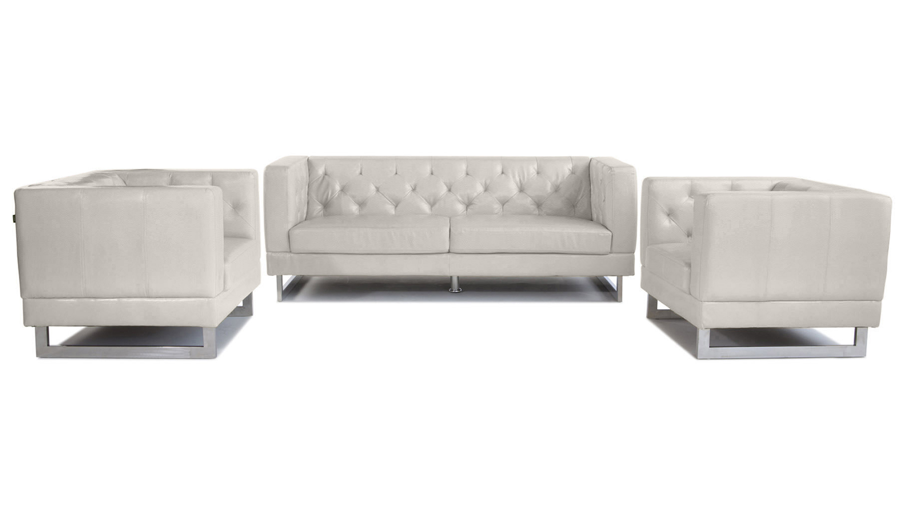 Brilliant Zeta Sofa Set With 2 Armchairs Beige Cjindustries Chair Design For Home Cjindustriesco