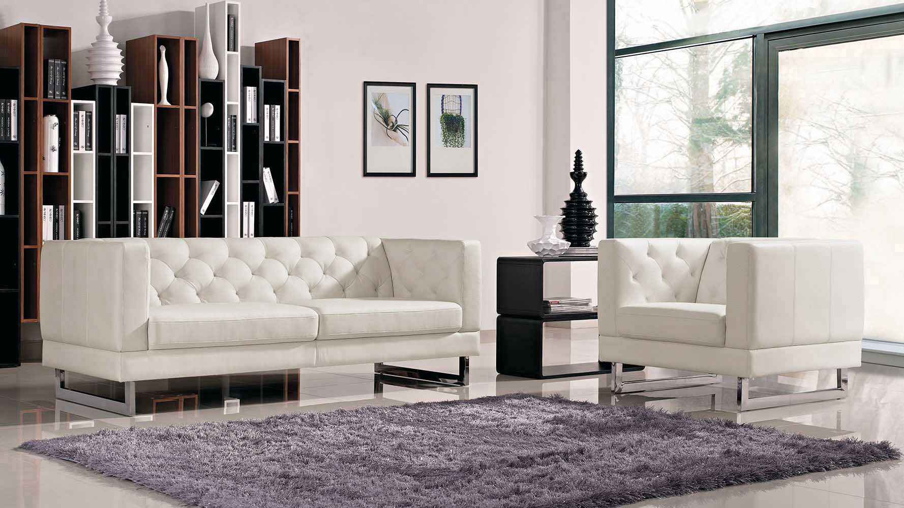 100+ [ Tufted Couch Set ] | Radley Sofa Beige By Homelegance