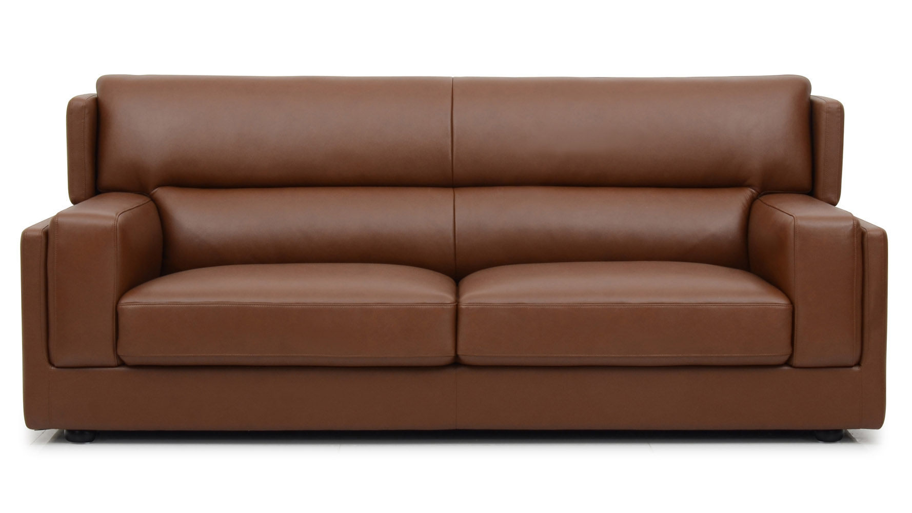 Destin 3 Piece Butterscotch Leather Sofa Set With Armchair Zuri Furniture