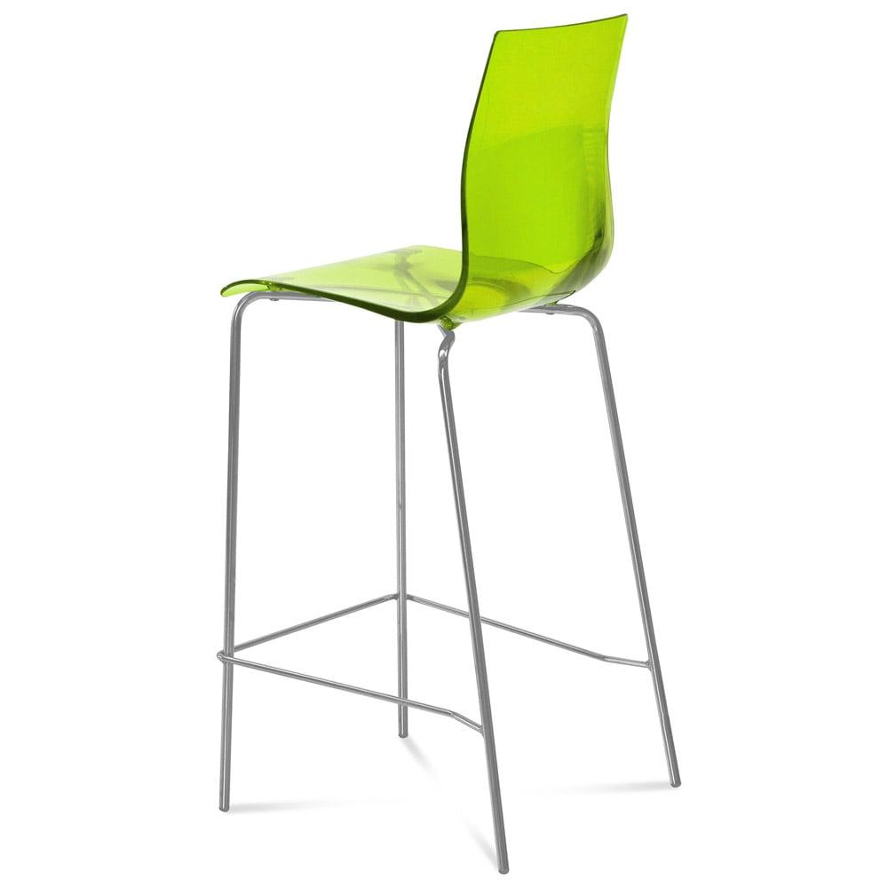 Elle Barstool  sc 1 st  Zuri Furniture & Lacquered Steel Elle Bar Stool | Zuri Furniture islam-shia.org