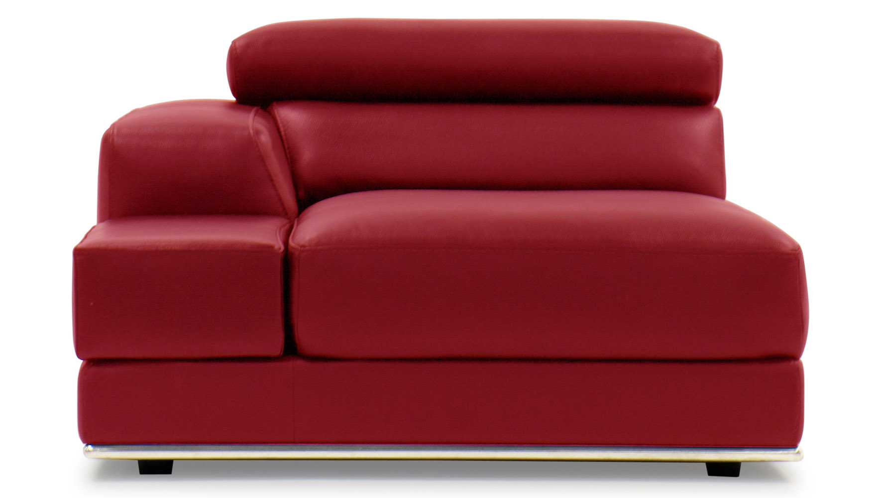 futon futons orange beds linen collections org sleeper leather plush sofa modern stg sofamania in verne red