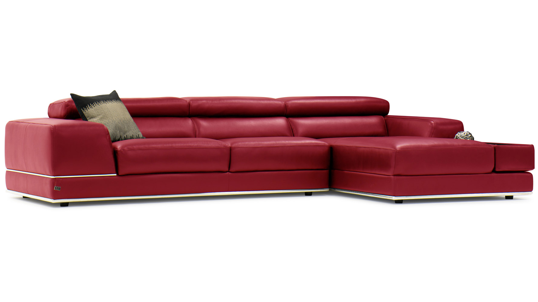 Encore Sectional   Red