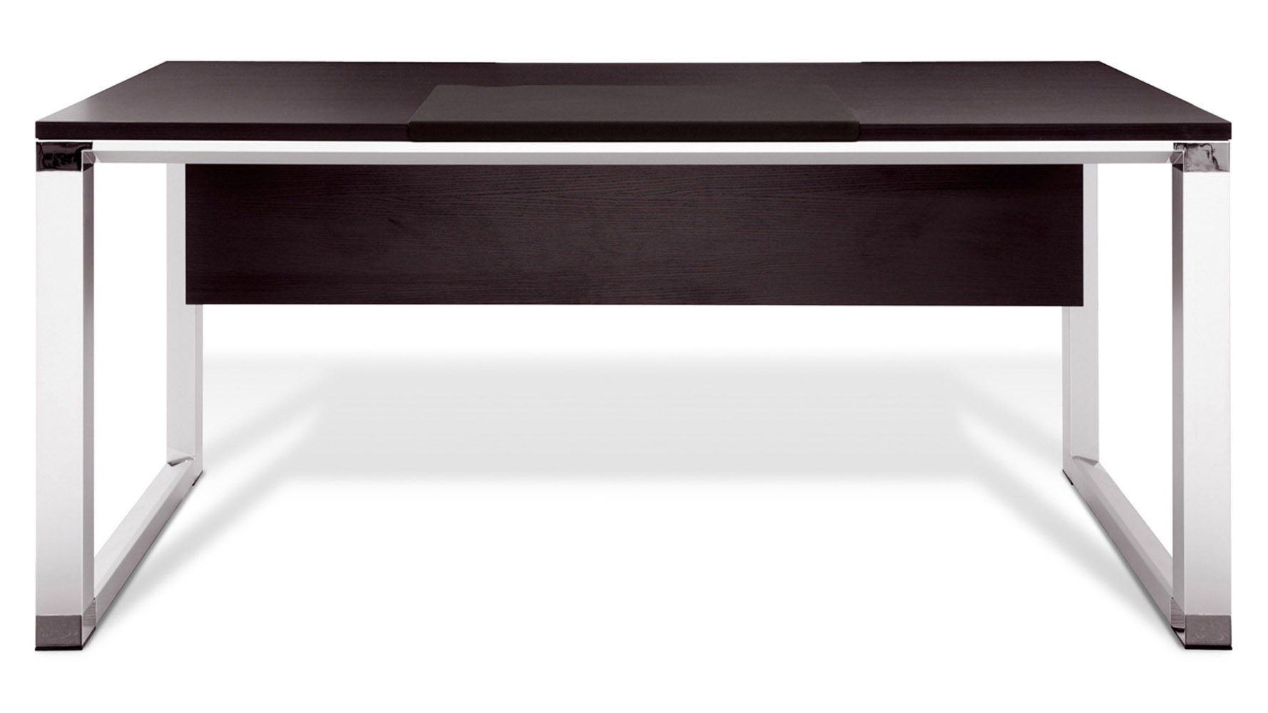 espresso 71 quot delano executive desk zuri furniture