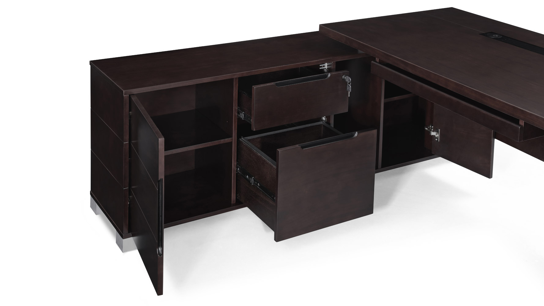 Ford Desk With Return