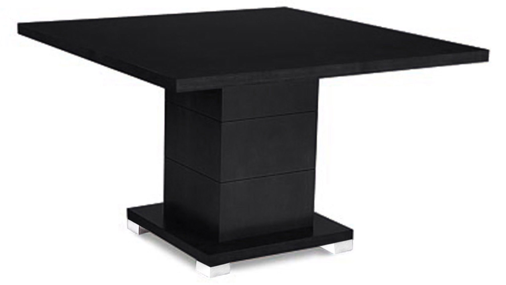 Stunning Black Square Dining Room Table Contemporary  : ford executive modern conference table in black oak finish square 01 from rugoingmyway.us size 1776 x 1000 jpeg 102kB