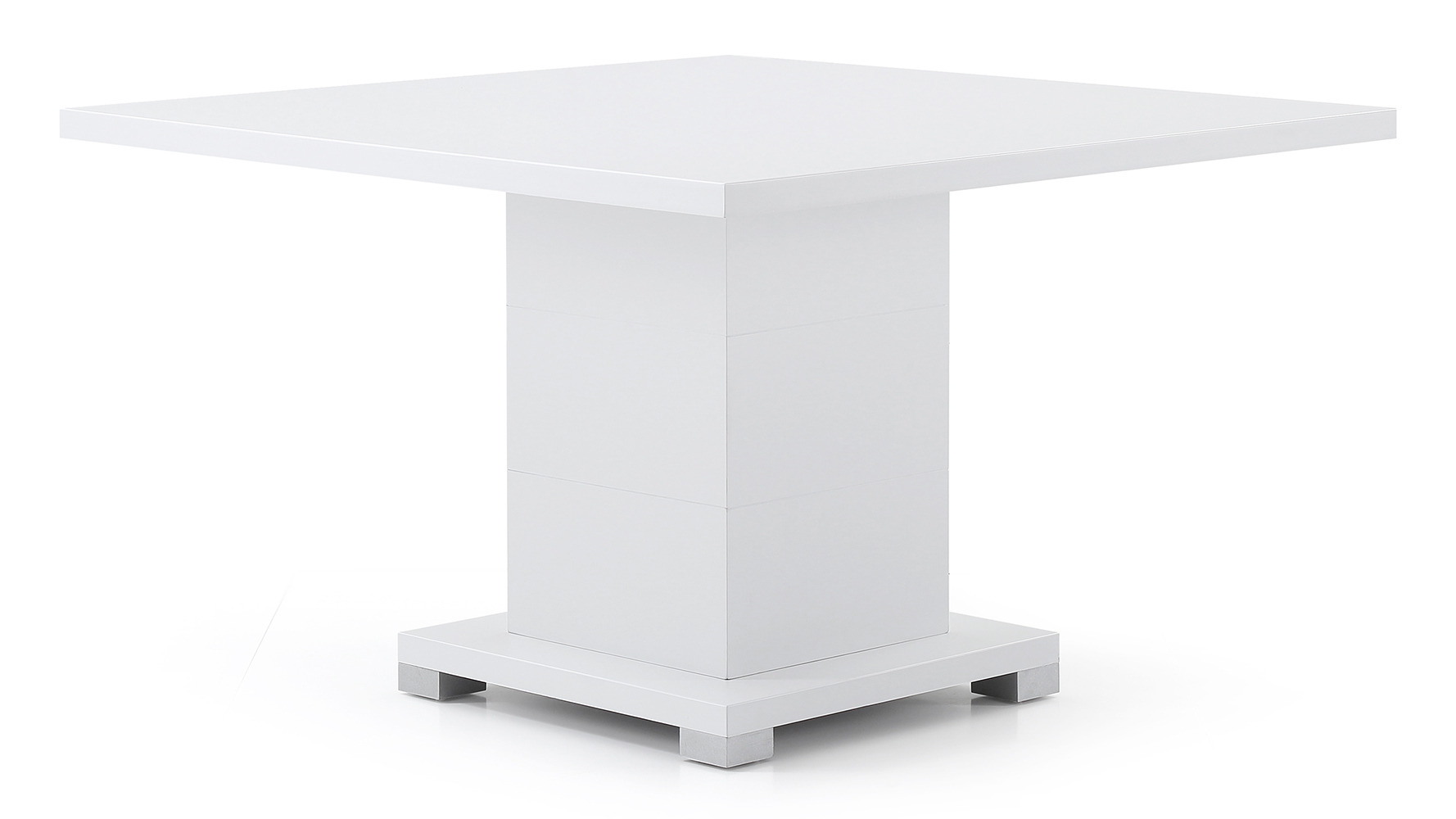 Ford Executive Modern Conference Table In White Square Zuri - Large square conference table