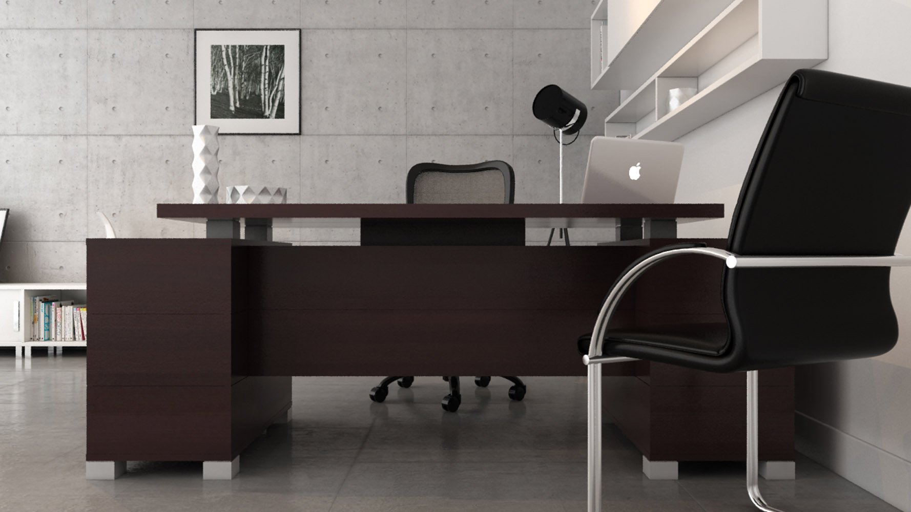 Executive Modern Desk Hostgarcia