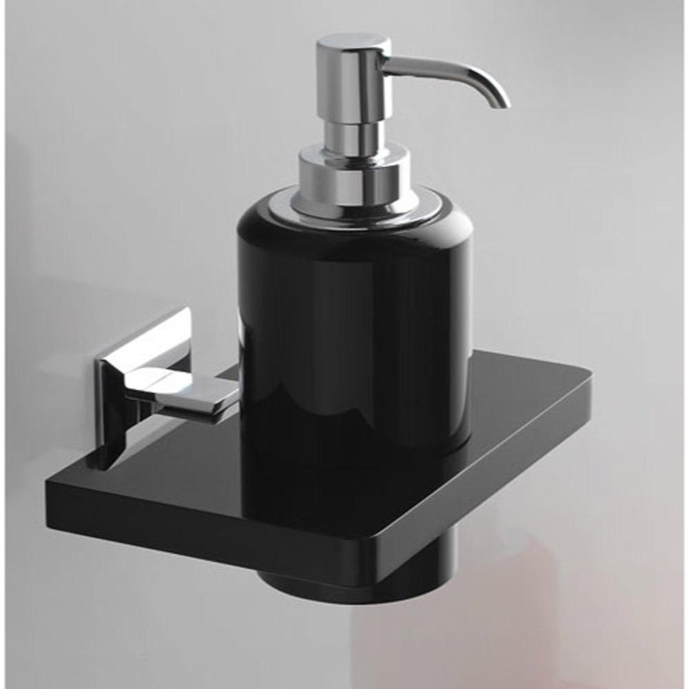 Liquid Soap Dispenser ~ Grip soap dispenser small bathroom accessory zuri