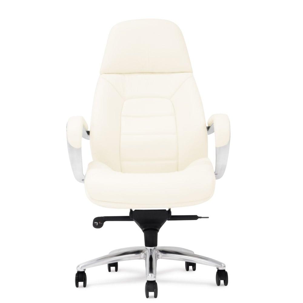 2006-2018 Zuri Furniture LLC. All Rights Reserved.  sc 1 st  Zuri Furniture & Gates Genuine Leather Aluminum Base High Back Executive Chair | Zuri ...