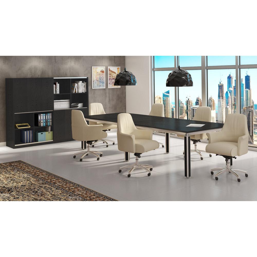 geffen genuine leather aluminum base low back executive chair geffen leather executive chair