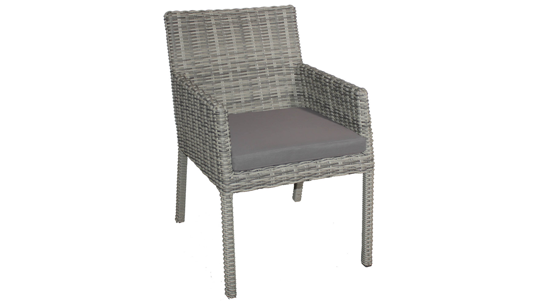 Greywash Rattan Allegra Outdoor Dining Set With Grey Cushions | Zuri  Furniture