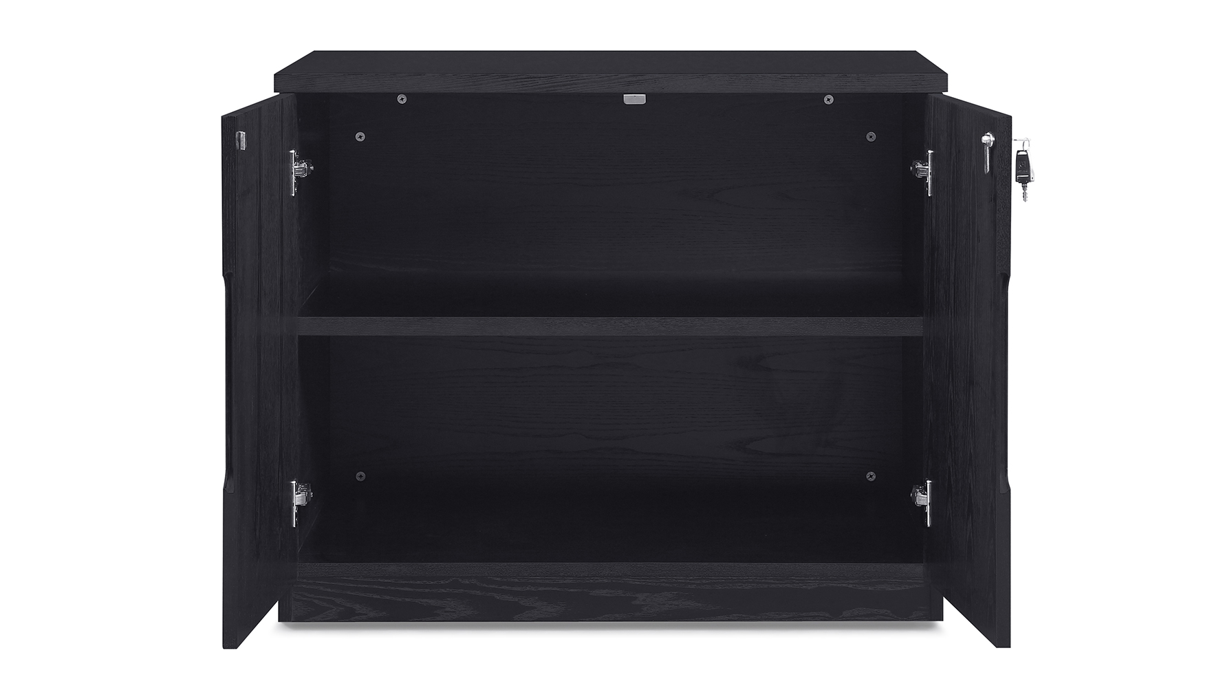 Hayes Black Wood Small Cabinet Modern Amp Contemporary