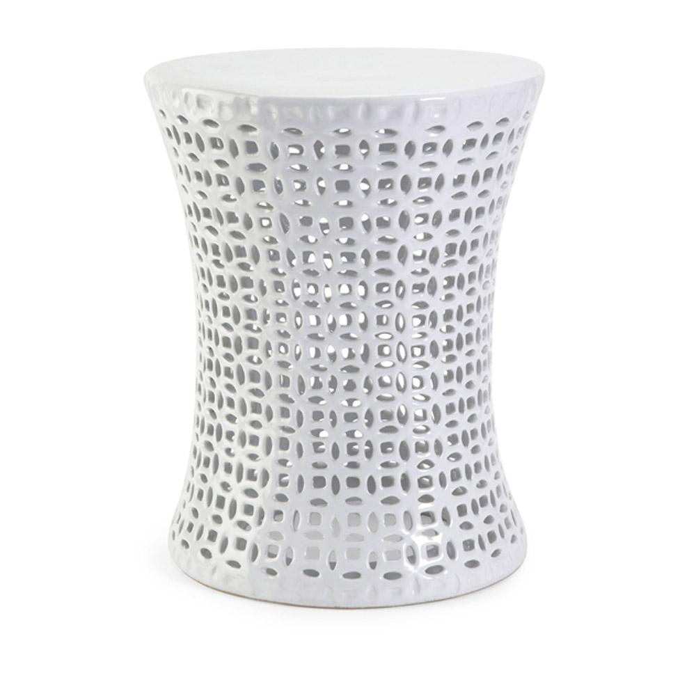 huff cutwork ceramic garden stool zuri furniture